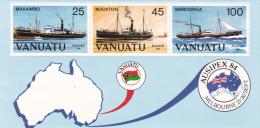 Vanuatu 1984 AUSIPEX 84 Stamp Expo Mini Sheet MNH - Vanuatu (1980-...)