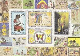 Vanuatu-1981 Christmas Souvenir Sheet 318a MNH - Vanuatu (1980-...)