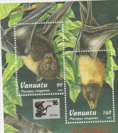 Vanuatu-1996 Flying Foxes Souvenir Sheet 677 MS  MNH - Vanuatu (1980-...)