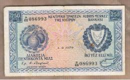 CHIPRE - 250 Mils  1979  P-41 - Chipre