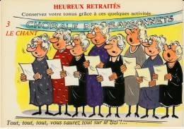 Heureux Retraités - 3 Le Chant - Humour