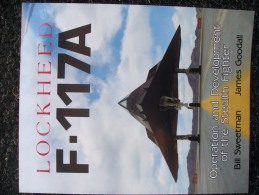 LIBRO  LOCKHEED F-117A   Aviazione Aerei - Forces Armées Américaines