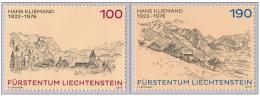 Liechtenstein 2013 Hans Kliemand Mountains ** MNH - Liechtenstein