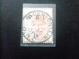 ORANGE 1900  --  Ocupacion Britanica --  OCCUPATION BRITANNIQUE   -- Yvert Tellier Nº 30 º FU - Oranje-Freistaat (1868-1909)