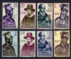 Spain - 1964 - Explorers & Colonizers Of America (4th Series) - MNH - 1931-Aujourd'hui: II. République - ....Juan Carlos I