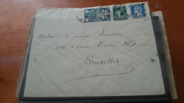 LOT 155434 TIMBRE DE FRANCE OBLITERE ENVELOPPE