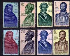 Spain - 1963 - Explorers & Colonizers Of America (3rd Series) - MNH - 1931-Aujourd'hui: II. République - ....Juan Carlos I
