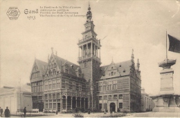 Exposition Universelle De Gand 1913.Le Pavillon De La Ville D'Anvers - Expositions