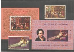 2 Hb + Sellos De  Goya Y Rubens - Rubens