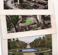 3 Cpsm ALGER 1958 Port, Avec Automobiles, Jardin D'essai, Stade Et HLM Duboucher  (20.69) - Algiers