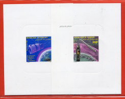 DJIBOUTI PA N°193/94 COSMOS,FUSEE 2  EPREUVES DE LUXE - Dschibuti (1977-...)