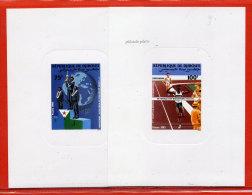 DJIBOUTI N°614/15 MARATHON 2 EPREUVES DE LUXE - Dschibuti (1977-...)