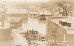 Vermont Montpelier Flood Scene November 1923 Real Photo