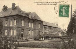 76 St Nicolas D'Aliermont. Usine Delepine Barrois - France
