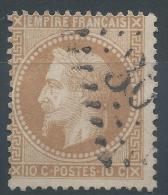Lot N°22262  N°28B, Oblit GC - 1863-1870 Napoléon III Lauré