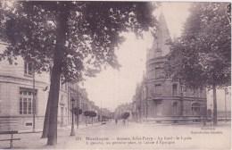 03 MONTLUCON, Avenue Jules Ferry, Le Lycée Et La Caisse D'épargne - Montlucon