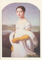 INGRES : ## Portret Van De Mejuffrouw Rivière ## : IMPRESSIONISME - Kunstkaart Met Beschrijving Op De Keerzijde. - Peintures & Tableaux