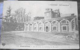 Cpa CHAMALIERES 63 Les Ecuries Du Château De Montjoli - France