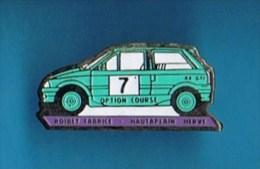 PIN´S.   AX GTI  N° 7  ROIBET FABRICE & HAUTAPLAIN HERVÉ - Rallye