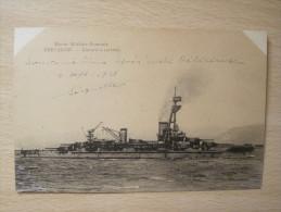 Marine Militaire Francaise - Bretagne, Cuirassé à Turbines - Warships