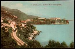 CPA - Monaco - Entrée De La Principauté - Train - Unclassified