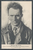 - CPA AVIATION - Maurice Bellonte - Héros Du Raid Paris-New York Les 1-2 Septembre 1930 - Aviateurs
