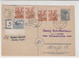 7.7.48 Ganzsache TOP ZF. Altenberg/Chemnitz. MK - Zona AAS