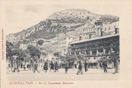 Gibraltar -  Précurseur - Copyright Cumbo And Montegriffo -  Casemates Barracks - Gibraltar