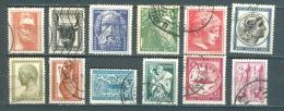 Greece, Yvert No 592/603 - Usati