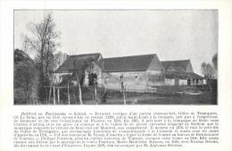 BELGIQUE - HAINAUT - ESTAIMPUIS - Sotrud - Dernier Vestiges D'un Ancien Château-fort. - Estaimpuis