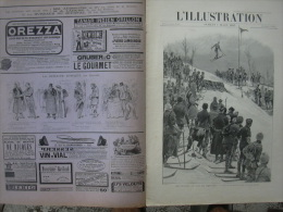 L'ILLUSTRATION 2715 SKI EN NORVEGE/ TURKESTAN CHINE/ MADAGASCAR/ OMBROMANIE/ NAUFRAGE CALAIS  9 Mars 1895 - Journaux - Quotidiens