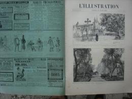 L'ILLUSTRATION 2716 VICTORIA EN France/ TUNISIE/ MADAGASCAR/ LA MODE/ COURSE JAMBES DE BOIS  16 Mars 1895 - Journaux - Quotidiens