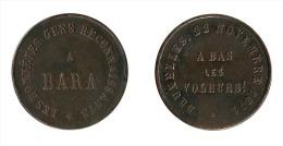 """N1489 - Belgique: Bruxelles: Jeton """"A Bara"""" 1871 - Belgique"""