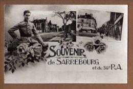 57 Moselle Souvenir De Sarrebourg Et Du 59 E Ra - Militaria
