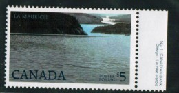 CANADA, 1986, # 1084,  HIGH-VALUE NATIONAL PARK DEFINITIVES: LA MAURICIE,  MNH - Timbres