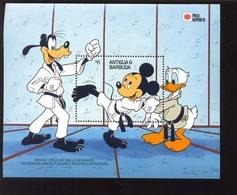 ANTIGUA & BARBUDA   1444 MINT NEVER HINGED SOUVENIR SHEET OF PHILA NIPPON '91 ; DISNEY   #  024-1   ( - Disney