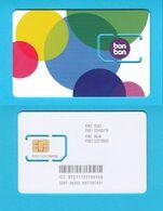 BONBON -  New GSM SIM Card With Chip  ( Croatia )  **  MINT SIM CARD - Never Used - Telecom