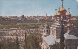 Isreal - Jerusalem Vom Ölberg - Ca. 1910 - Rückseitig Marke Österreich/Kreta Nr. 17 (6204) - Israel