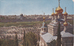 Isreal - Jerusalem Vom Ölberg - Ca. 1910 - Rückseitig Marke Österreich/Kreta Nr. 17 (6204) - Israele
