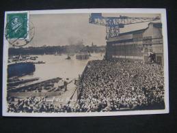 == Kiel Stapellauf Foto Panzerschiff Deutschland 1´931 , Selten - Kiel