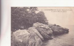 CPA  -   2878.  ILE DE NOIRMOUTIER (Vendée) - Rochers St-Philbert Et La Côte Du Bois De La Chaise - Noirmoutier