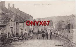 ODIVAL (Haute-Marne-52) Rue Du Haut - BELLE  ANIMATION - RARE - VOIR 2 SCANS - - Autres Communes
