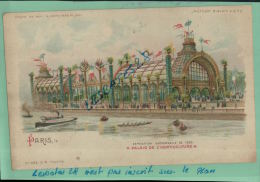EXPOSITION UNIVERSELLE DE 1900,  PARIS, PALAIS DE L'HORTICULTURE,   Illustrateurs,   ? ,   AVRIL 2013  1669 - Controluce