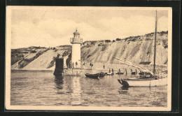 CPA Erquy, Le Phare, Phare Und Schiffe - Phares