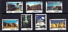 Australia 1979 National Parks Set Of 7 Used - 1966-79 Elizabeth II