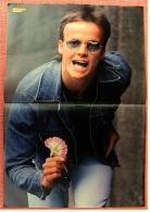 Kleines Poster  -  Hubert Kah  -  Von Bravo Ca. 1982 - Plakate & Poster