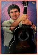 Kleines Poster  -  Chris De Burgh  -  Rückseite : Falco  -  Von Bravo Ca. 1982 - Plakate & Poster
