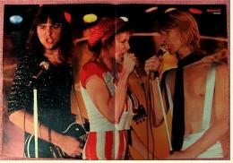 Kleines Poster  -  Band Promises  -  Von Bravo Ca. 1982 - Plakate & Poster