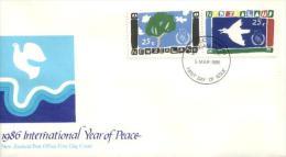 Neuseeland / New Zealand - Mi-Nr 958/959 FDC (z604) - FDC