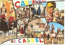 MONT CASSEL ..  LE CARNAVAL AVEC REUZE PAPA   REUZE MAMAN - Cassel